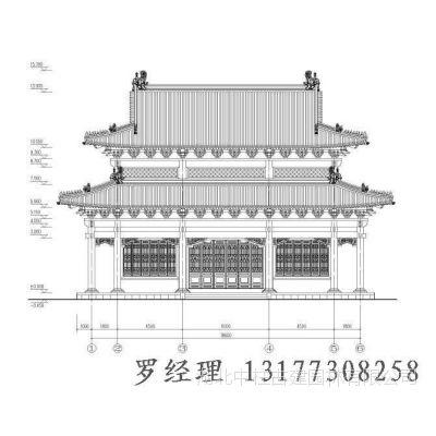 寺庙图纸|寺院施工图设计