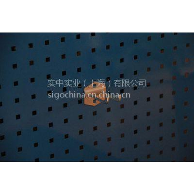 厂价批发方孔挂板用物料整理架金属电镀钢质吊钩双挂钩双斜挂钩DFG-1505