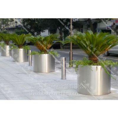 供应室外不锈钢大花盆(SZHP-250)圆柱形款式
