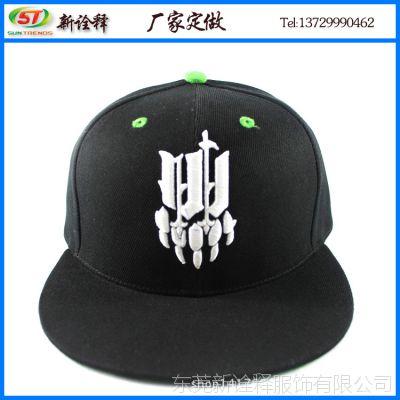 帽厂订制2015年夏季户外防晒帽子刺绣hiphop帽字母印花平板嘻哈帽