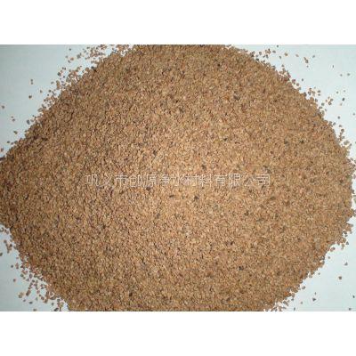 核桃壳滤料用途、核桃壳滤料厂家、核桃壳滤料价格