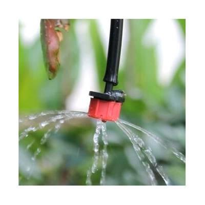滴灌水流量可调节滴头 可关闭滴头 可拆式滴头 360度8孔5孔喷滴头