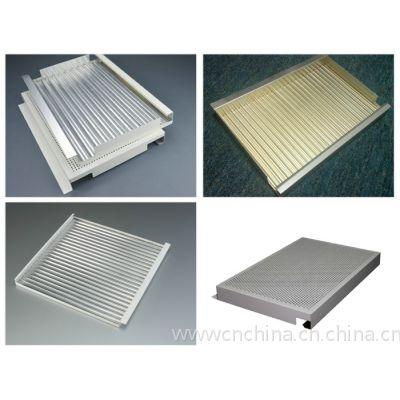 勾搭铝瓦楞板吊顶厂家&瓦楞板装饰铝天花