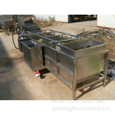 厂家直销弘发 油菜清洗机 气泡清洗机 果蔬清洗流水线