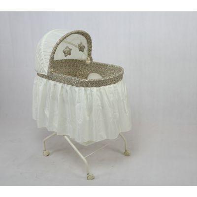 Joey品牌婴儿床 欧式风格 高品质 带滚轮 可折叠 婴儿床批发