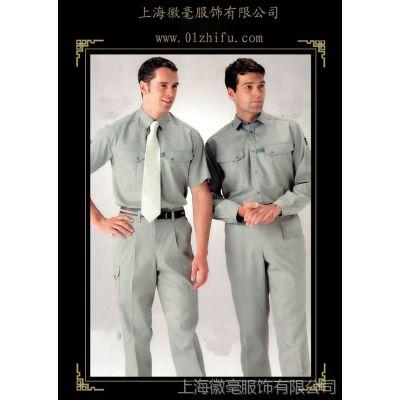 供应定制企业工厂矿工工装劳保服工作服,夏季工装上海定做批发