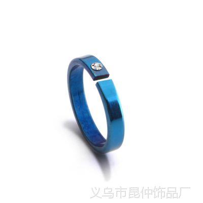 满100情侣饰品批发  时尚创意个性 不锈钢不退色戒指 4762 2739
