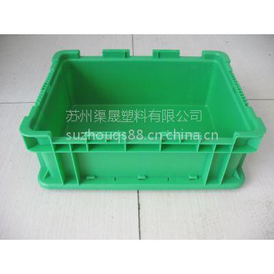 ST-H苏州塑料周转箱 苏州汽车物流箱 上海通用汽车件专用箱