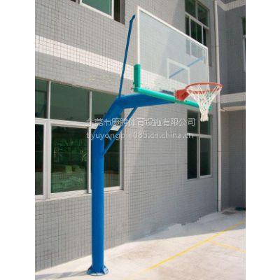厂家专业生产固定透明板篮球架 东莞篮球架直销