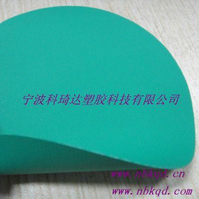 阻燃耐酸碱PVC夹网布防化服面料绿色
