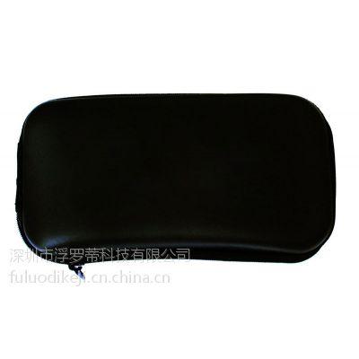 厂家定制高档EVA太阳镜盒 抗压眼镜盒 墨镜盒 黑色拉链盒 眼镜盒