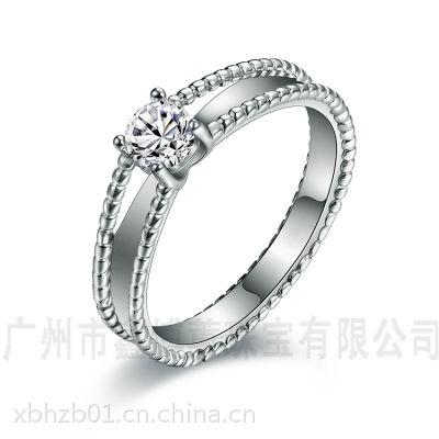 饰品配件925纯银***戒指银饰生产加工服装配饰