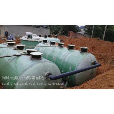 诸城润泓WSZ型度假村污水处理一体化地埋设备