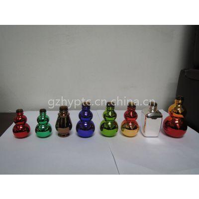电镀玻璃瓶,电镀指甲油瓶,电镀精油瓶,电镀拉管瓶,电镀香水瓶,电镀塑料瓶