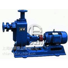 上海连渠泵业供应供应ZW型无堵塞自吸泵