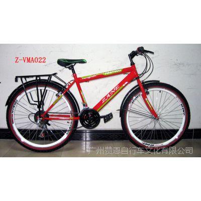 供应26寸18速铝合金双层刀圈优质变速系统山地车 自行车加盟