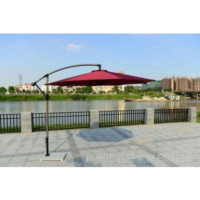 售楼部侧边伞,商业街太阳伞,站岗遮阳伞