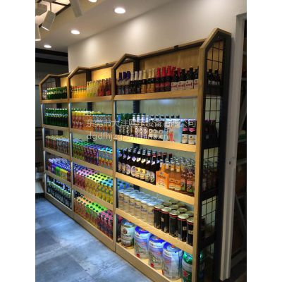 大沣DF-007木制精品超市货架日用品展示货架展柜