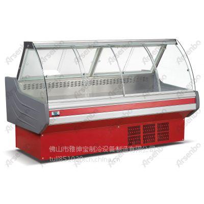 雅绅宝熟食保鲜展示柜多少钱 厂家直销SG-25KP掀盖熟食柜一体机