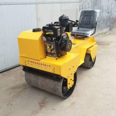 硕阳SY-850C双钢轮座驾式振动压路机生产厂家