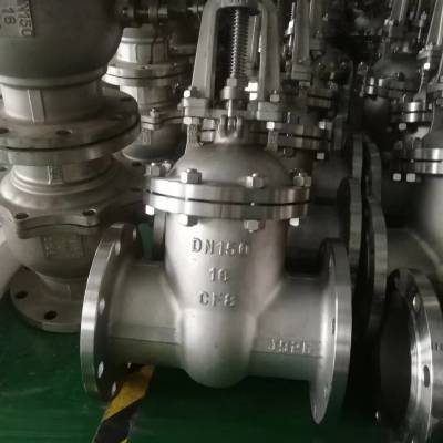 (CF8M)Z41W/Y-10R DN80 Z41W-10P不锈钢低压闸阀-Z41W-10P闸阀-不