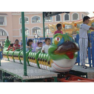 许昌英博青虫滑车游乐设备 儿童小火车类 适合公园,广场