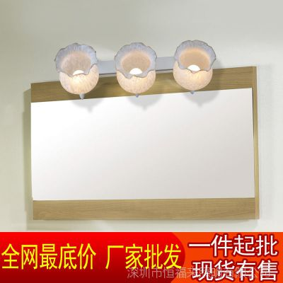 专业供应欧式地中海田园镜前灯三头复古美式卫浴室卫生间灯具6602