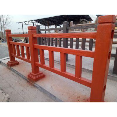 包工包料包安装水泥仿腐木护栏 仿木仿石栏杆