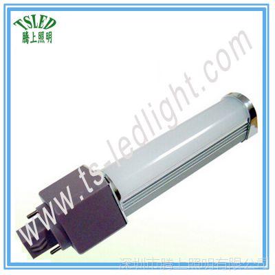 厂家批发6W led横插灯 5630贴片玉米灯g23g24e27球泡灯节能筒灯