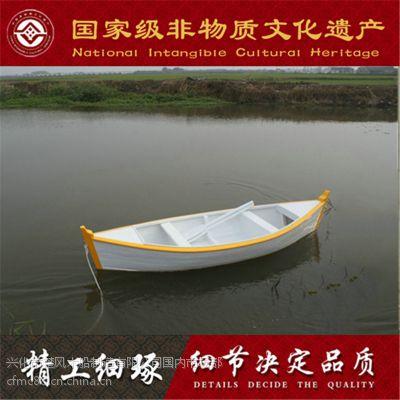 哪有木船卖 出售优质欧式尖头小木船 批发定做公园摄影工艺木船