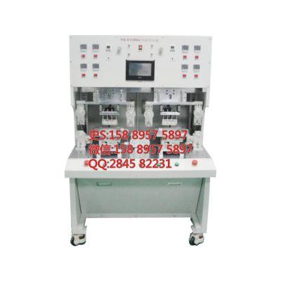 涌泉自动化供应YQ-E1108A双头双面热压机|LCM排线FPC绑定机|斑马纸热压机