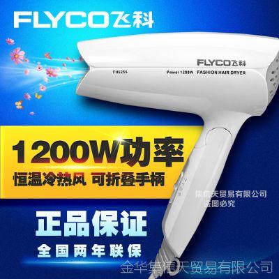 批发 飞科电吹风FH6255 冷热风两档风力 静音设计可折叠吹风机
