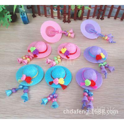 塑料玩具配件芭比芭芘迷糊可儿娃娃饰品帽子多款小商品批发