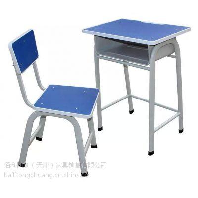 天津环保学校专用课桌椅 舒适耐用的固定式课桌椅 便宜的木质多层板课桌椅 送货安装