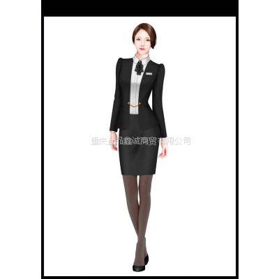 重庆上品鑫诚服装厂供应房地产服装、物业服装、售楼部服装
