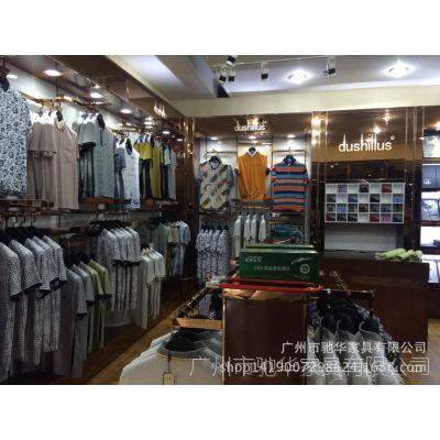 展柜厂直供服装展示架 服装店中岛柜 木质货柜展台定制