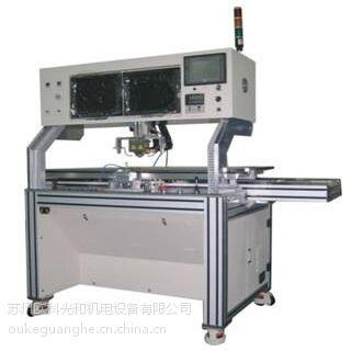 供应苏州电容式触摸屏双工位ACF脉冲本压机 FPC热压机
