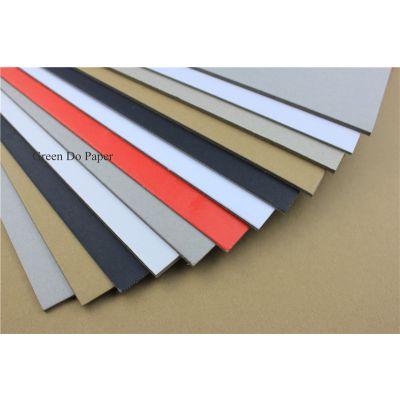 包装纸板 厚度2.0毫米实心 灰色、白色、黑色、黄色可选择