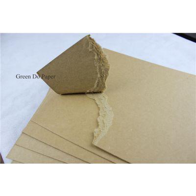 牛皮卡纸 1MM厚度 实心纯牛卡 面层平整