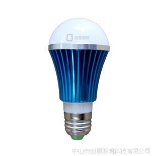 LED球泡灯 E27 新款 蓝色银色绿色黄色紫色 3W5W7W B22