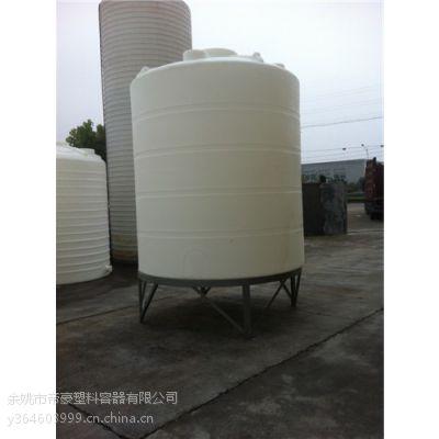 PE塑料锥底水塔CPT-8000L 表面光滑 耐震耐撞击 防腐