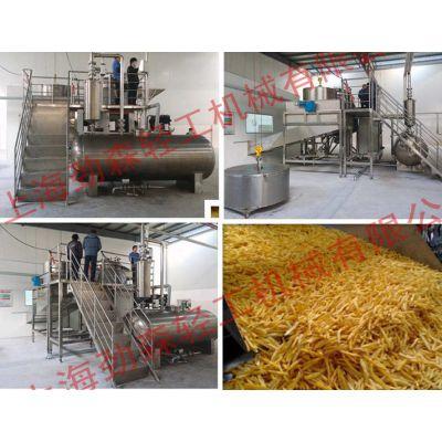 大型薯条真空低温油炸机,全自动土豆真空油炸机,大型马铃薯深加工设备