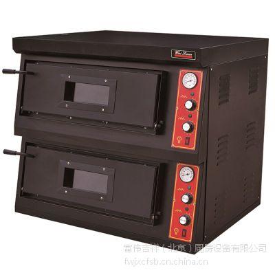 供应Wailaan唯利安燃气比萨烤箱CR-2-4 双层燃气披萨烤箱