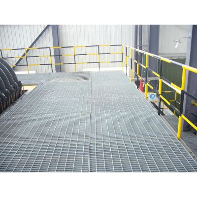 供应长期供应平台钢格板 镀锌网格板
