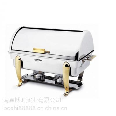 不锈钢自助餐炉翻盖布菲炉自助保温电加热早餐炉保温炉酒精电热板