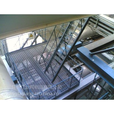 厂家专供镀锌钢格栅 平台钢格板 楼梯踏步板 洗车房工作台专用泰江供应