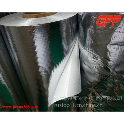 江苏杰优生产加工定制铝膜编织布、镀铝膜编织布、镀铝膜复合编织布、编织布镀铝膜、铝箔编织布