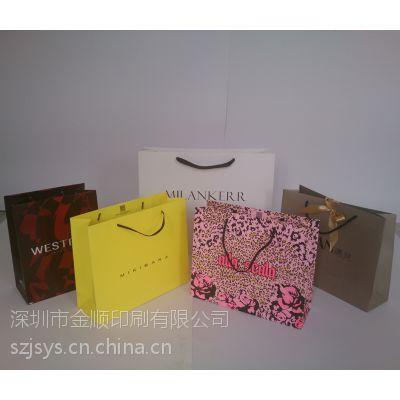 供应深圳厂家批量定做手提袋、订做服装手袋、展销会手提袋