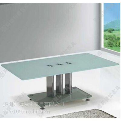 新款上市 现代高档咖啡厅餐桌 潮流造型不锈钢咖啡桌 可定做