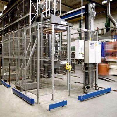 铝合金设备 机械安全防护围栏网格江苏厂家定制 l铝型材防护
